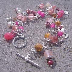 Charming Charm Bracelet by CinnamonLotus on Etsy, $22.00
