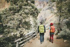 Oregon Rock Climbing Engagement Shoot