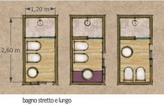 bagno stretto e lungo - Rebel Without Applause Bathroom Spa, Bathroom Toilets, Bathroom Layout, Small Bathroom, Ideas Baños, Victoria House, Bathroom Renovations, Home Staging, Cozy House
