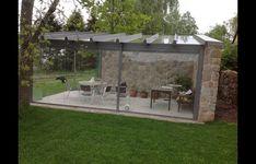 Orangery Conservatory, Outdoor Pergola, Outdoor Decor, Hillside House, Garden Studio, Diy Greenhouse, Winter Garden, Architecture Design, Home And Garden