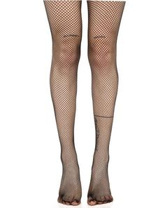 Demon Days Fishnet Tights will take ya to hell 'N back, babe. These tights feature a stretchy classikk black fishnet construction that'll knock down whatever stands in yer way. Black Fishnet Tights, Thigh High Tights, Striped Tights, Sheer Tights, Black Fishnets, Fishnet Stockings, Thigh Highs, Stockings Outfit, Fishnet Socks
