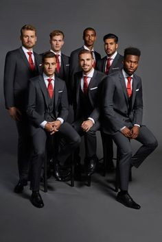 Hugo Boss just upped Liverpool FC's suit game