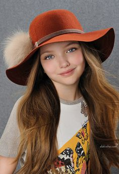 The new collection of Laura Biagitti doll hats has all sorts of creations, from the knitted headwear to the side brimmed hats, the French b...