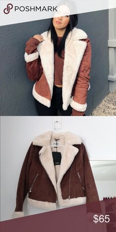 Furry jacket tags still on worn once! Super and warm don't wear it enough so selling! Bear Jacket, Enough Is Enough, Be Still, Warm, Coats, Best Deals, Womens Fashion, How To Wear, Jackets