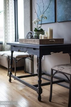 DIY Chalk Paint Furniture | The Elli Blog