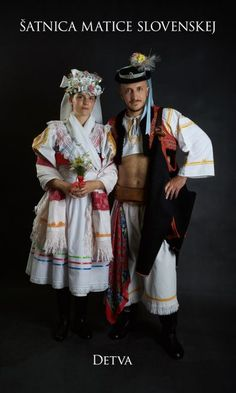 Kostýmy a kroje – Matica slovenská Folk Costume, Costumes, Folk Embroidery, European Countries, Eastern Europe, Country, Folk Clothing, Beautiful, Slovenia