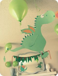 Dragon party decorations