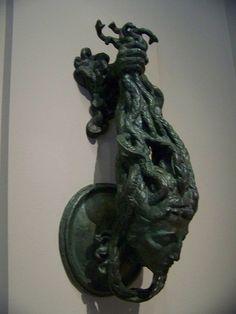 Everyone's favorite Gorgon from Grecian mythology...as a doorknocker.