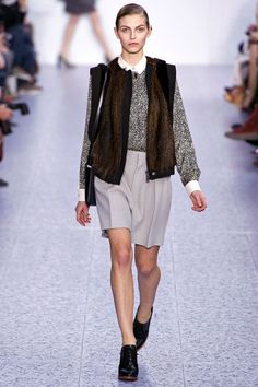 Chloé A/W 13 - this makes me believe that some day, 90s geek chic could be the new chic chic
