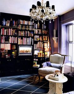 This WILL be my closet #bookshelves add clothes on the other side