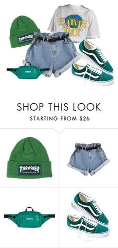 """""""X"""" by rosavage01 on Polyvore featuring Vans"""