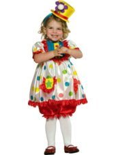 Toddler Girls Clown Costume-Career Costumes-Toddler Girls Costumes-Baby, Toddler Costumes-Halloween Costumes-Party City