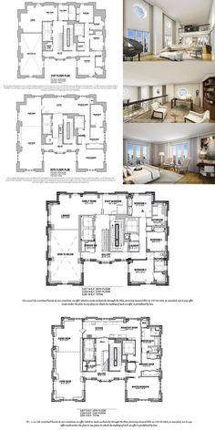 Apartment Plans 140 East 63rd St Ph4 In Lenox Hill Manhattan Streeteasy Duplex