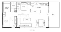 Small Cottage Floor Plans Concept Drawings by Robert Olson Photo