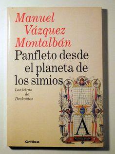 PANFLETO DESDE EL PLANETA DE LOS SIMIOS - Llibres del Mirall