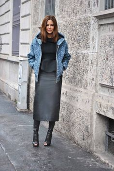 Christine Centenera style file: Ksubi jacket and skirt, Celine top, Tom Ford shoes. Street Chic, Street Style, Work Fashion, Fashion Outfits, Fashion Women, Christine Centenera, Vogue Australia, Love Her Style, Fashion Editor