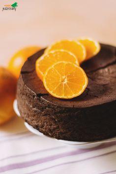 Tofurnik czekoladowo-pomarańczowy CAKE