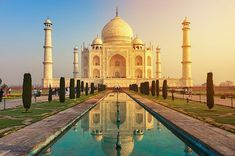 Looking for the best places to travel in the world? Here you will find a list of the top travel destinations and the best vacation spots from different countries. Never run out of places to go. Start planning your dream vacation now! Top Travel Destinations, Best Places To Travel, Cool Places To Visit, Places To Go, Travel Tourism, Holiday Destinations, Jaipur Travel, India Travel, Taj Mahal