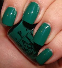 "OPI - Hong Kong Collection: ""Jade is the New Black"" 