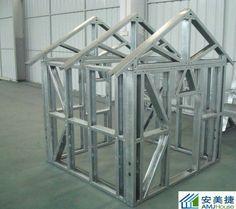 Light Steel Frame For Prefab House - Buy Steel Frame Houses,Light Steel Frame…