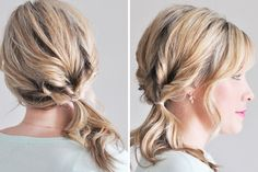 15 Hair Hacks that Take Less Than 5 Minutes via Brit + Co.