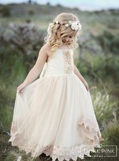Join us fabulous weekly giveaways and special offers just message francesca flower girl lace dress champagne mightylinksfo