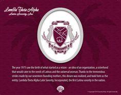 Lambda Theta Alpha Tribute Poster