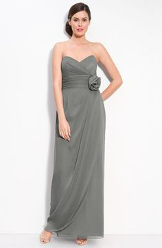 pretty bridesmaid dress without the flower...trudy doesnt do flowers