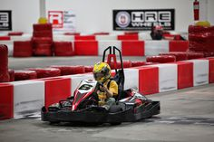 Go Carting at Central Texas Speedway or K1 Speed.