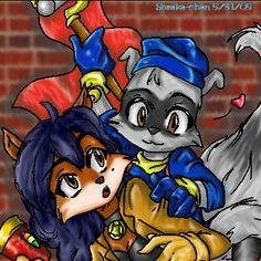 Sneaky Little Sly Cooper by Soraka-chan on DeviantArt