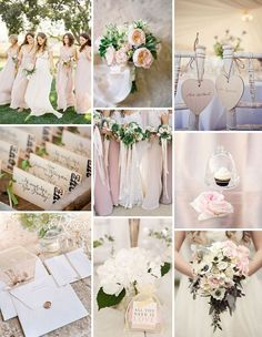 Blush and nudes wedding inspiration