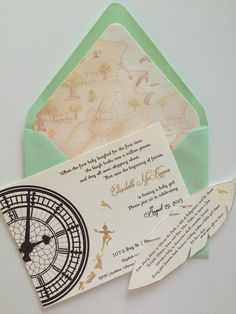 Peter Pan Baby Shower Invitation