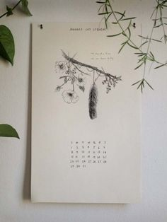 Calendars by the Wild Unknown