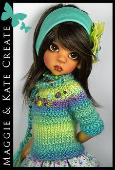 OOAK-Aqua-Green-Outfit-for-Kaye-Wiggs-18-MSD-BJD-by-Maggie-Kate-Create