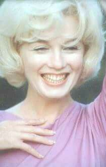 Marilyn Monroe in 1962 just about a month before she died.