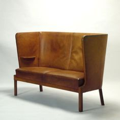 incredible settee....... by Fritz Henningsen