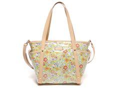 Hello Kitty x Samantha Thavasa Tote bag w/ Pouch Yellow