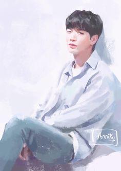 #nuest #jonghyun #fanart NU'EST #jr