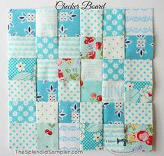 Charise Creates: Splendid Sampler ~ Crocheted Thoughts & Checker Board