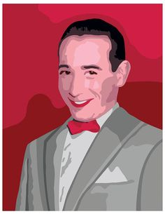 PeeWee Herman Paint By Number Kit by PopParty on Etsy, $40.00