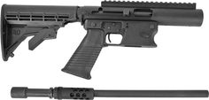 Aero Survival Rifle 9mm, 40S&W, 45ACP... takedown, quick caliber change, feeds from glock magazines.