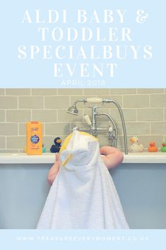 FAMILY: Aldi Baby and Toddler Specialbuys Event April 2018
