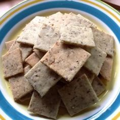 Almond You Must Be Nuts! Crackers - Allrecipes.com