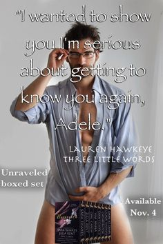 "Lauren Hawkeye ""Unraveled: 8 Delicious Tales of Passion"" boxed set, for sale November 4!"