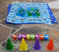 fish bowl toss carnival game idea
