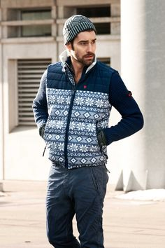 Strellson Sportswear Look Fall/Winter 2013. #sportswear #fashion #streetstyle #casual