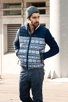 Strellson Sportswear Look Fall/Winter 2013. #sportswear #fashion #streetstyle #casual