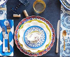 mesa posta mix de estampas, pratos estampados, mix and match, como colocar a mesa, we share ideias, louça portuquesa