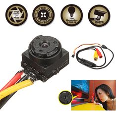 The Home Security System Buying Guide Electronics Mini Projects, Diy Electronics, Sierra Leone, Wireless Spy Camera, Uganda, Home Cctv, Spy Gadgets, Hidden Camera, Security Surveillance