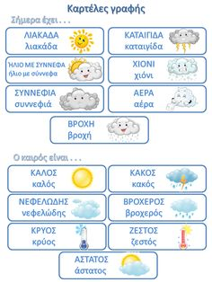 Νηπιαγωγός για πάντα.... Greek Phrases, Greek Words, Activities For 2 Year Olds, Preschool Activities, Learn Greek, Greek Alphabet, Greek Language, School Calendar, Preschool Education